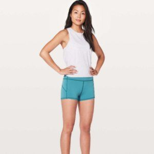 Lululemon In Movement Short-Pacific Teal